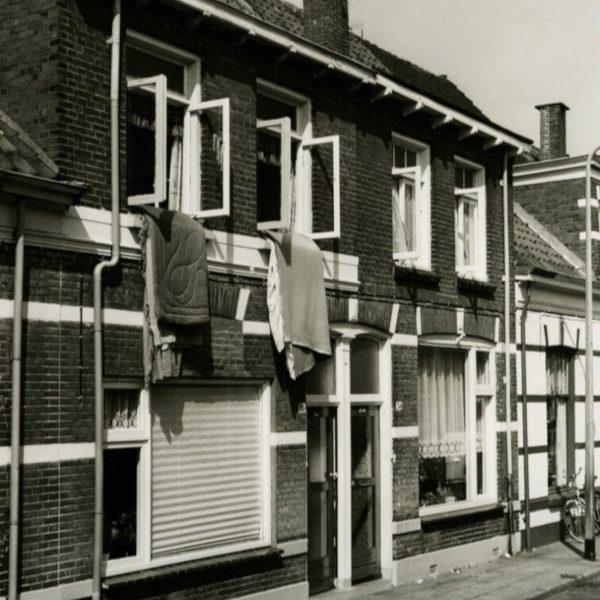 Blokstraat huisnr. 34/36 (1974) bron: Historisch Centrum Overijssel
