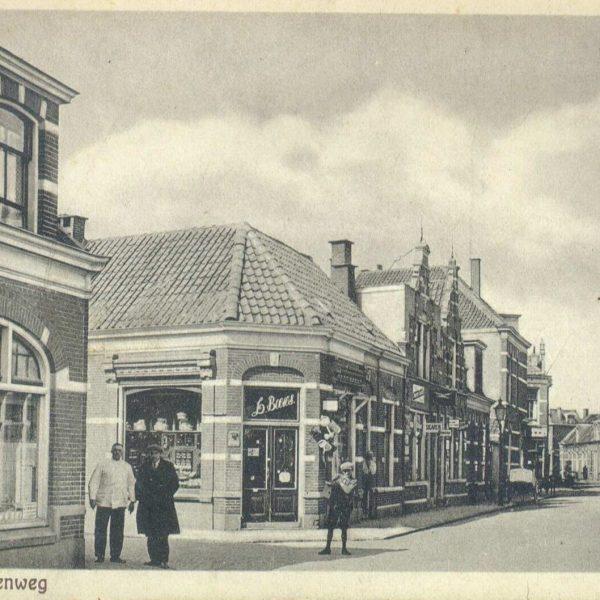 Hoek Molenweg/Groenestraat (1925) bron: Historisch Centrum Overijssel
