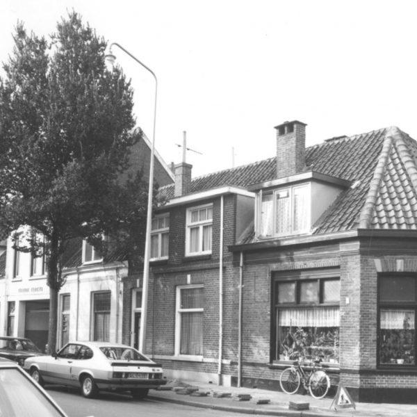 Hoek Groeneweg/Blokstraat (1981) bron: Historisch Centrum Overijssel