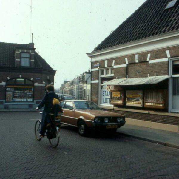 Groenestraat r. Molenweg (1982) bron: Historisch Centrum Overijssel