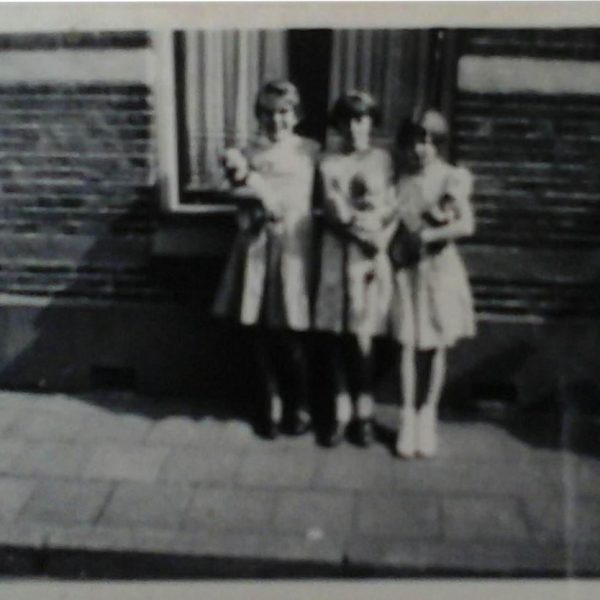 In de Groenestraat (jaren 60) thv nr 46