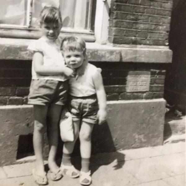 In de Groenestraat (jaren 60)